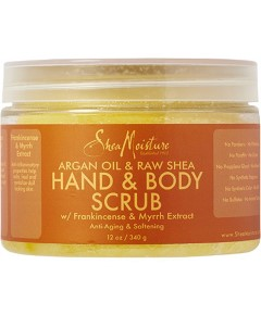 Argan Oil And Raw Shea Hand And Body Scrub